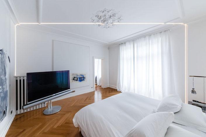 Décoration de plafond en platre